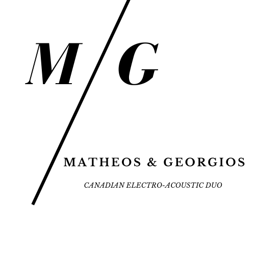 Matheos & Georgios official logo and brand identity